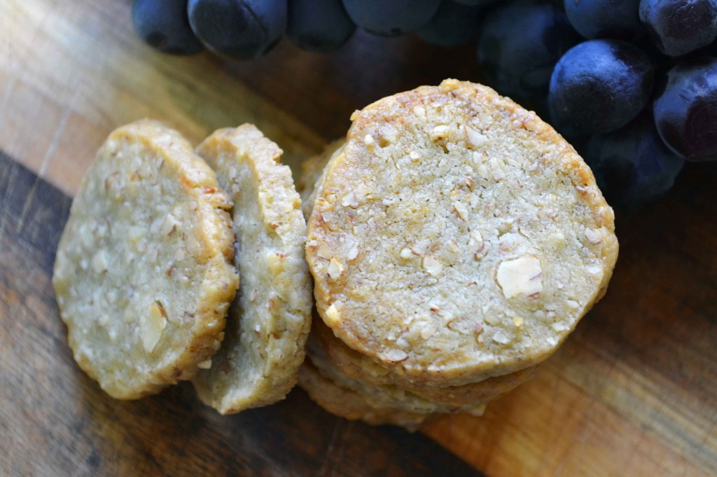 Blue Cheese shortbread 3 1024x681 Blue Cheese & Pecan Shortbread