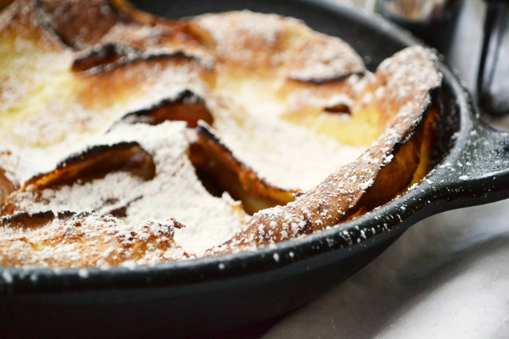Apple pancake 3 1024x682 Puffed Apple Pancake