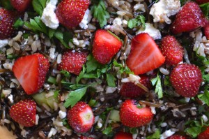 wild rice strawberry salad 3 300x199 wild rice strawberry salad 3