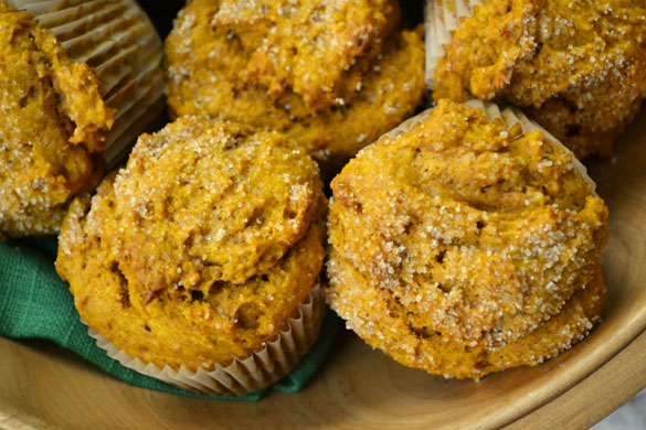 Pumpkin muffins 2 Better Than Starbucks Pumpkin Muffins