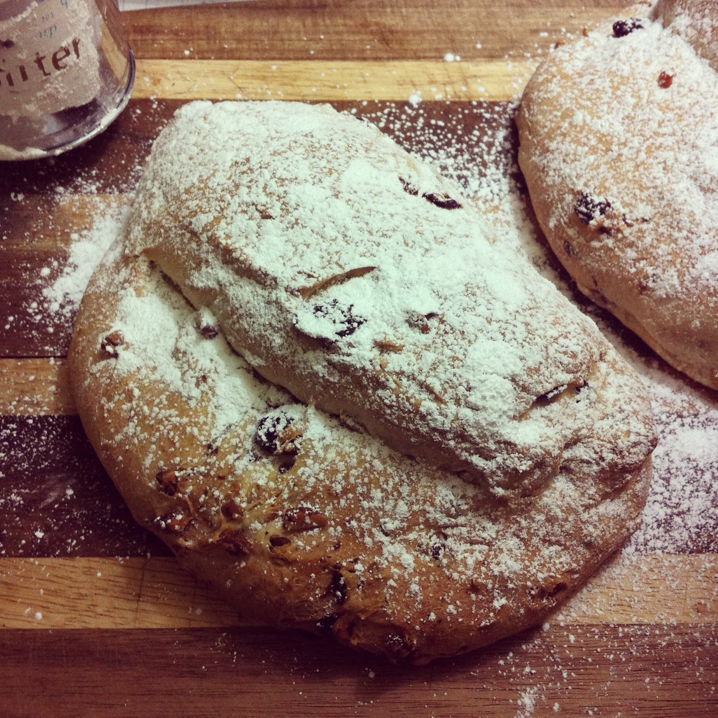 stollen Short and Sweet: Christmas Stollen