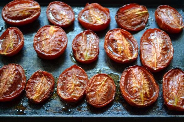 roasted plum tomatoes Bacon & Tomato Jam