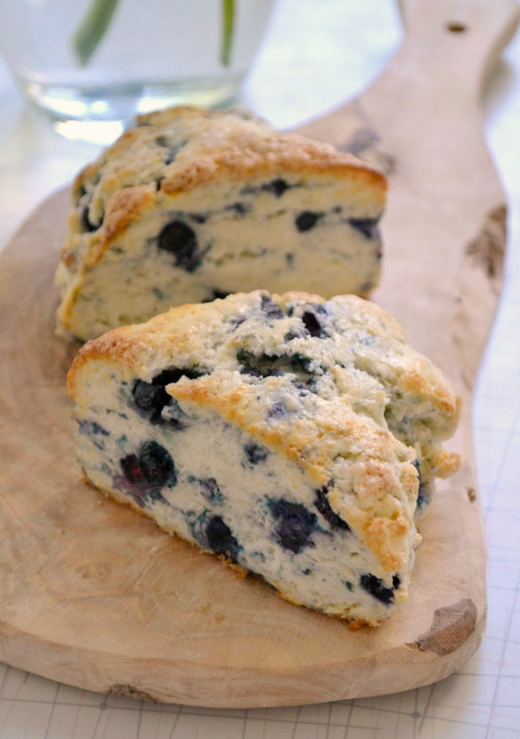 Blueberry scones1 How to Photograph Food
