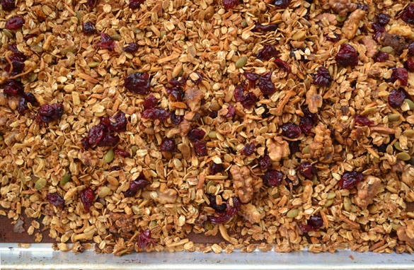 Gingerbread granola 3 Pumpkin Gingerbread Granola