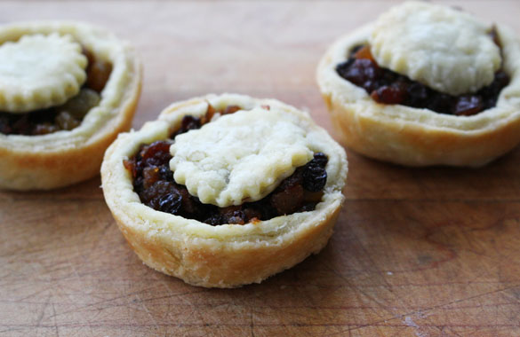 mince tarts 5 Homemade All Fruit Mincemeat (and Tarts)