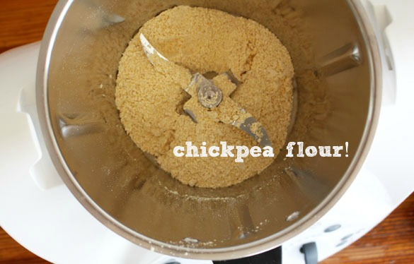 chickpea flour Taking the Thermomix for a Test Drive