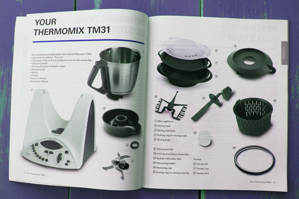 thermomix manual Taking the Thermomix for a Test Drive